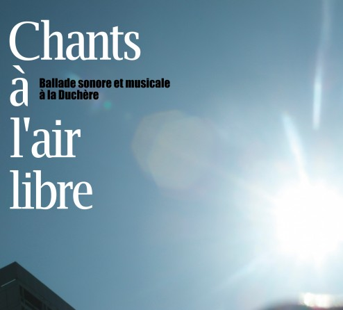 Visuel Chants à l'air libre